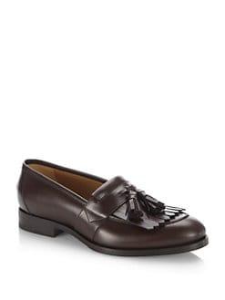 Quentin tassel leather loafers Gucci BYoyd0eAuB
