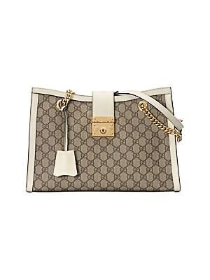 c066d85061b80 Gucci - Padlock GG Medium Shoulder Bag - saks.com