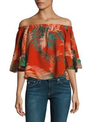 Faith Off-the-Shoulder Top by Rebecca Minkoff