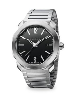 Bvlgari Stainless Steel Bracelet Watch