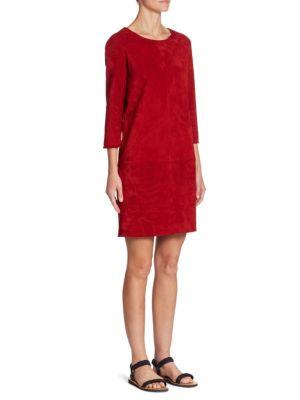 Rina Suede Dress