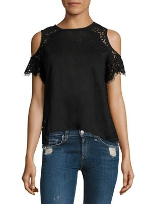 Cold Shoulder Lace Top by Generation Love