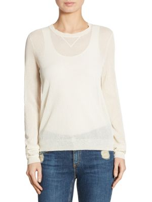 Yulia D Textured Pullover by Theory