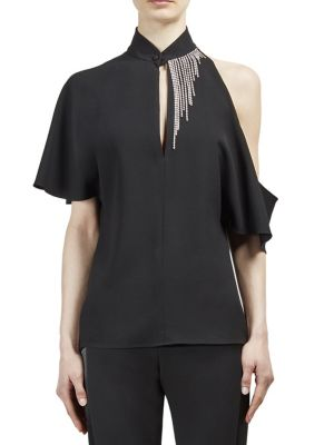 Cold Shoulder Top by Lanvin