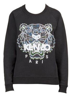 Floral Tiger Sweatshirt by KENZO
