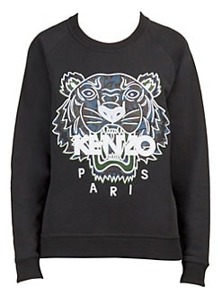 Floral Tiger Sweatshirt BLACK. QUICK VIEW. Product image. QUICK VIEW. Kenzo ef5875d3daa