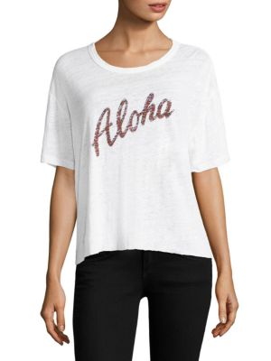 Aloha Athletic Linen Tee by MONROW