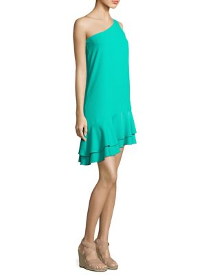 Buy Trina Turk Lunaria Tiered One-Shoulder Dress online with Australia wide shipping