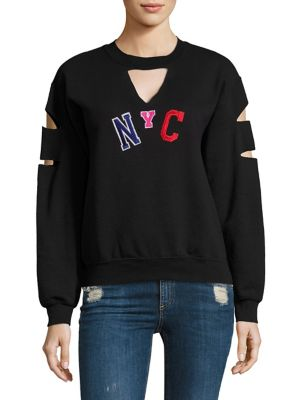 Vintage Patch NYC Sweatshirt by JET