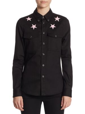 Cotton Denim Shirt by Givenchy