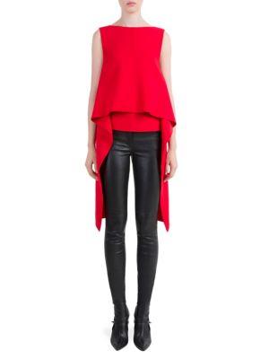 V-Back Sash Blouse by Givenchy