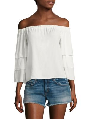 Solid Off-The-Shoulder Top by Ella Moss
