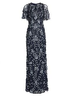 acc70cd2c6d4 QUICK VIEW. Theia. Petal Applique Gown