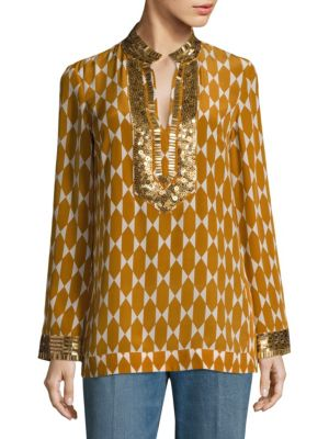 Tory Silk Tunic by Tory Burch
