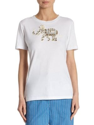 Dahlia Cotton Shirt by Tory Burch