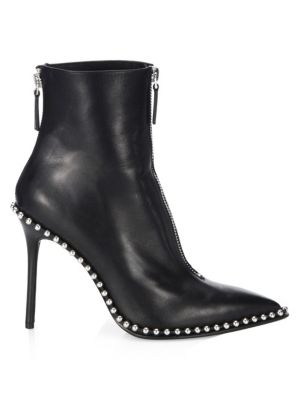 Studded Leather Booties by Alexander Wang