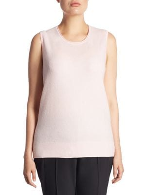 saks fifth avenue, plus size - collection cashmere knitted sweater