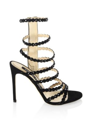 Kimberly Crystal Gladiator Sandals by Sergio Rossi