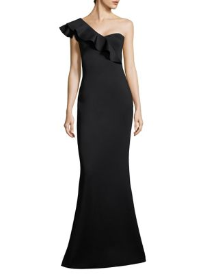 Tailored-Fit Carmel One Shoulder Gown