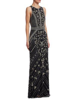 Floral Mermaid Dress