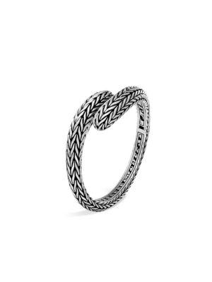 Sterling Silver Classic Chain Drop Earrings