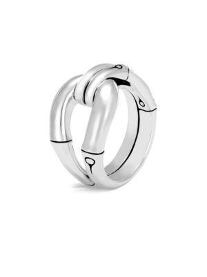 John Hardy Bamboo Sterling Silver Ring