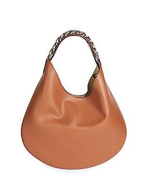 1ba07be2a6 Givenchy - Infinity Small Leather Hobo Bag - saks.com