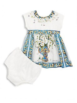 Blue dress for baby girl z ro