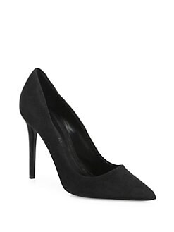 Peep Toe Open Shoes & Heels, Black, suede, 2017, 4.5 6.5 7.5 9.5 Giuseppe Zanotti
