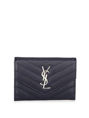 Monogram Passport Case With Silver Hardware, Marine