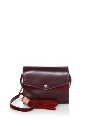 Eloise Leather Field Bag by Elizabeth And James