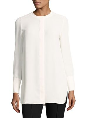 Collarless Blouse by L.K. Bennett