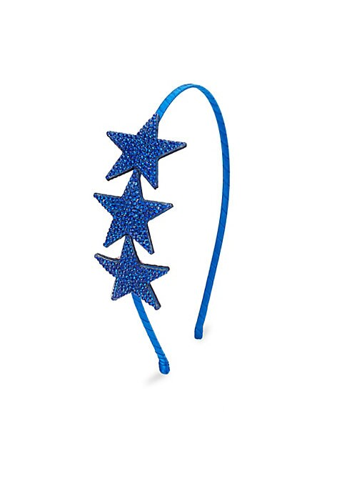 Image of .Featuring three textured stars with wrapped metal. .Crystal/metal. .Spot clean. .Imported. .
