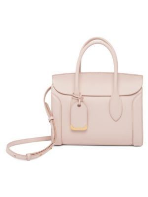 Heroine 30 Small Sweet Calf Leather Tote Bag in Neutrals