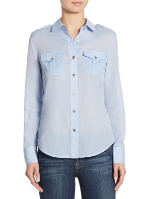 Buy Tory Burch Brigitte Cotton Shirt online with Australia wide shipping