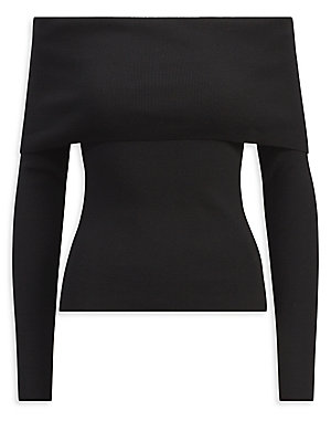 93f778e1277 Ralph Lauren Collection - Iconic Style Off-The-Shoulder Sweater
