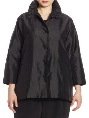24/7 Silk Shantung Shirt by Caroline Rose