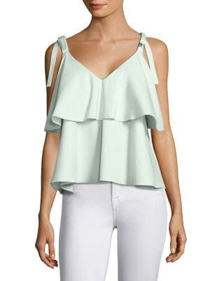 Brett Tiered Ruffled Top by Prose & Poetry
