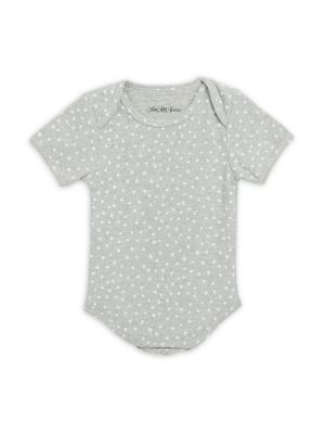 Babys Heather Cotton Bodysuit