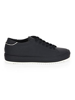 PHILIPPE MODEL - Marais Leather Low-Top Sneakers