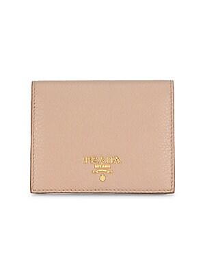 f0c4b0ea474a Prada - Bi-Color French Leather Wallet