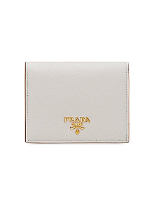 2578847976a4 Prada - Bi-Color French Leather Wallet