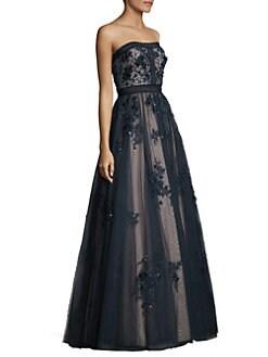 71c5666b2f2b Basix Black Label. Floral Bodycon Ball Gown