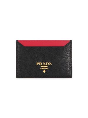 Bi Color Card Case by Prada