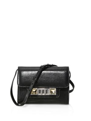 Ps11 Leather Chain Wallet by Proenza Schouler