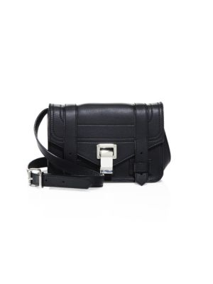 Proenza Schouler Ps1 Mini Grained Leather Crossbody Bag