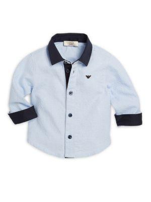 Infant Cotton Boys Shirt