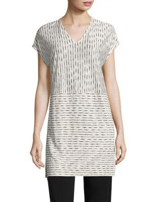 Painter Organic Linen Jersey Tunic by Eileen Fisher
