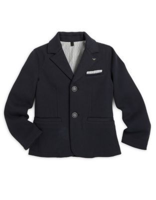 Little Boys  Boys Solid Jersey Blazer