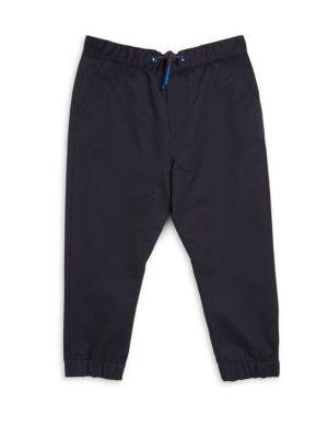Little Boys  Boys Cotton Solid Trousers